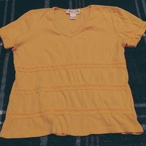 Tops - Yellow top